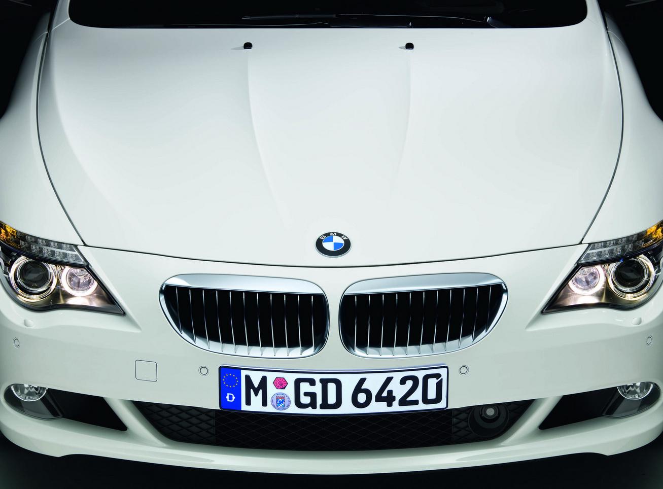 2009 BMW 6 series sport package