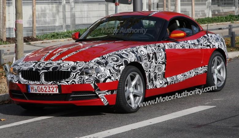 2009 New BMW Z4 – Spy photos