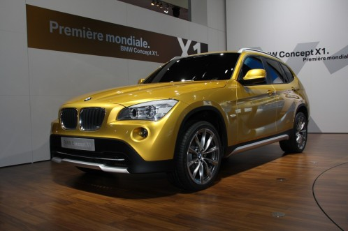 BMW X1 – Date of production