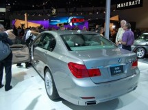 New BMW 7 Series unveiled at LA Auto Show