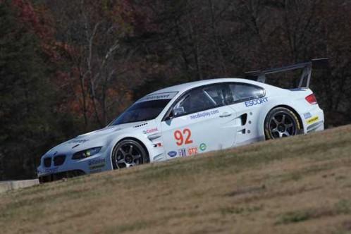 BMW M3 ALMS spy photos