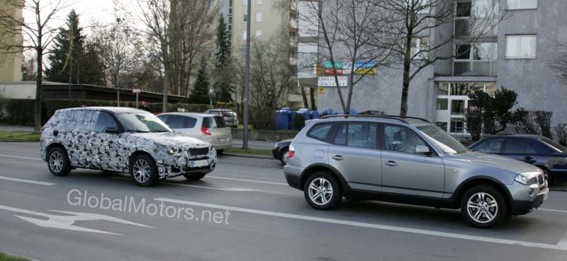 2010 BMW X3 spy photos