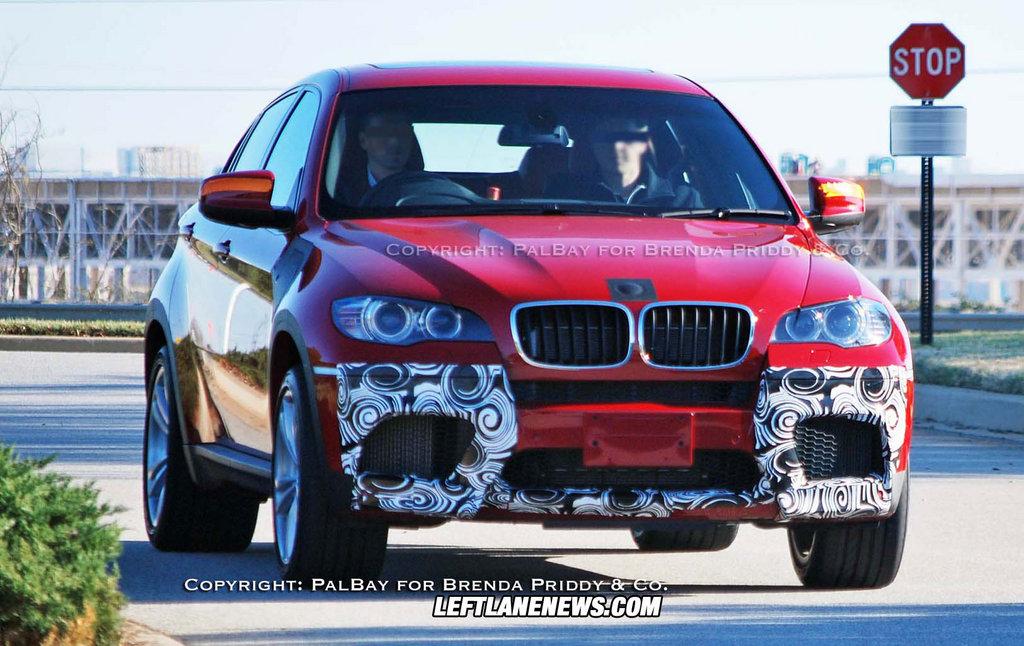 2010 BMW X6 M spy photos