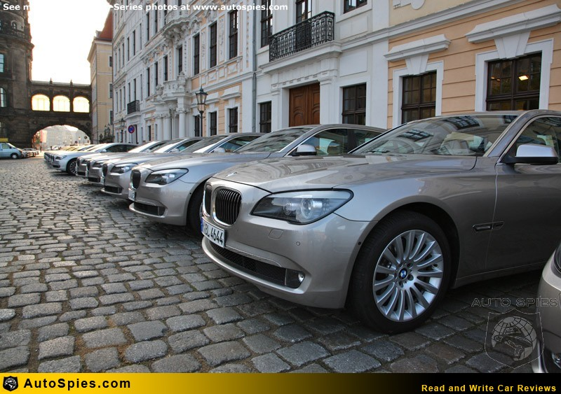 Outdoor pictures of the BMW 7 Series