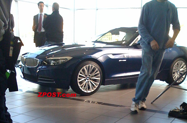 BMW Z4 first picture