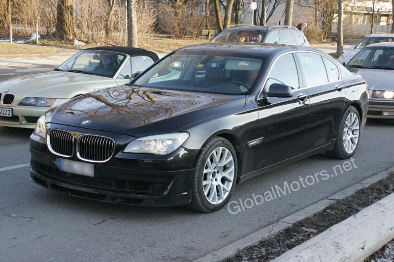 BMW Alpina B7 spied in traffic