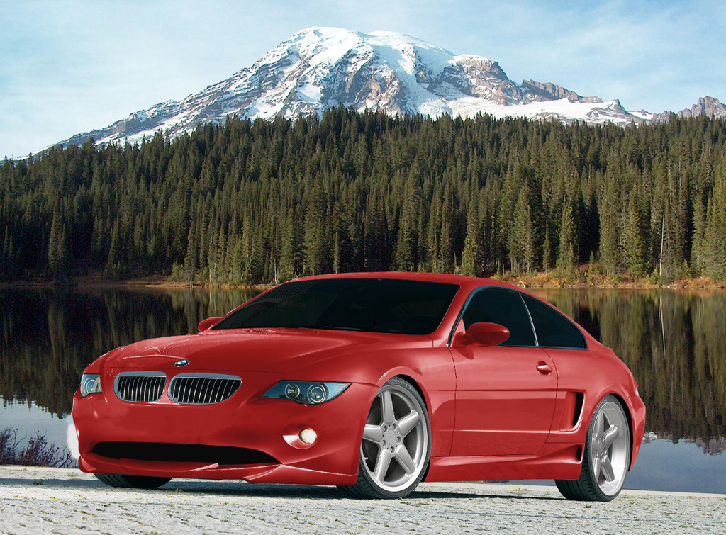 BMW M6 – The Red Beauty