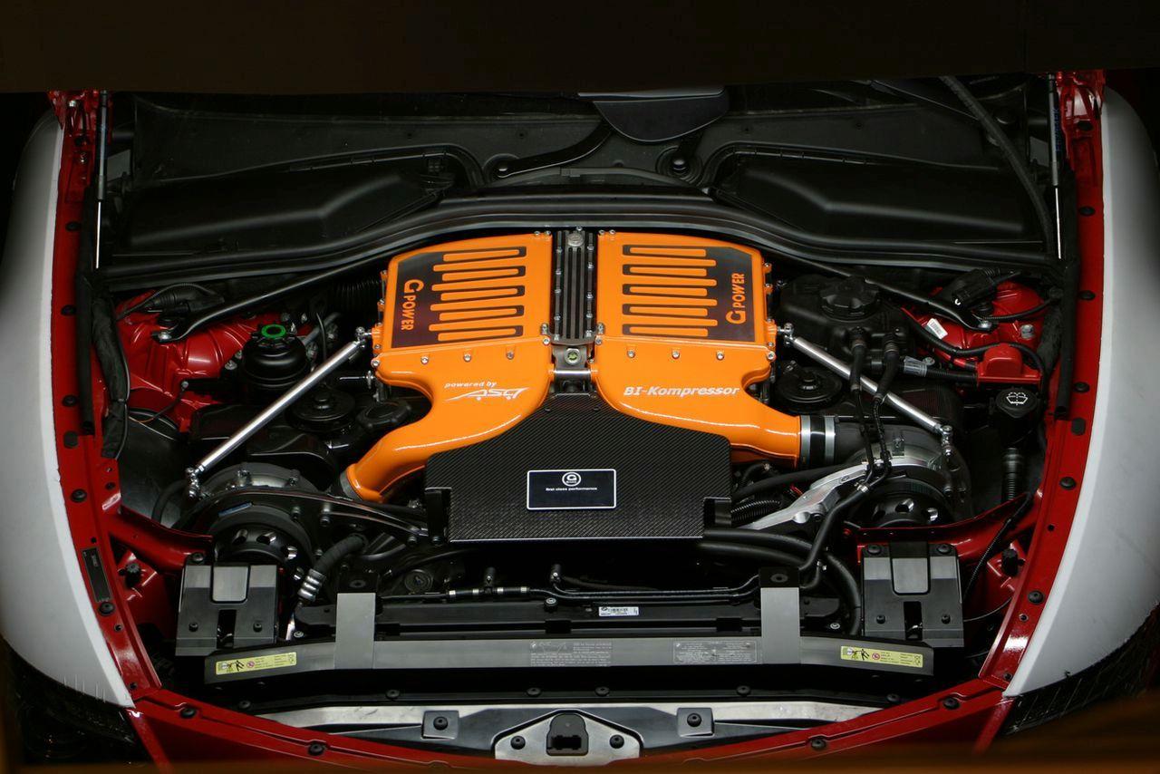 G-Power BMW M6 Hurricane CS Engine