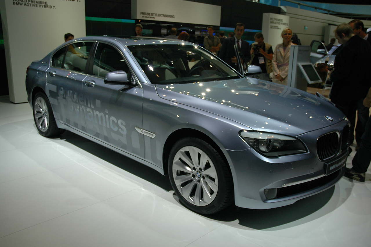 Frankfurt 2009: BMW 7 Series ActiveHybrid