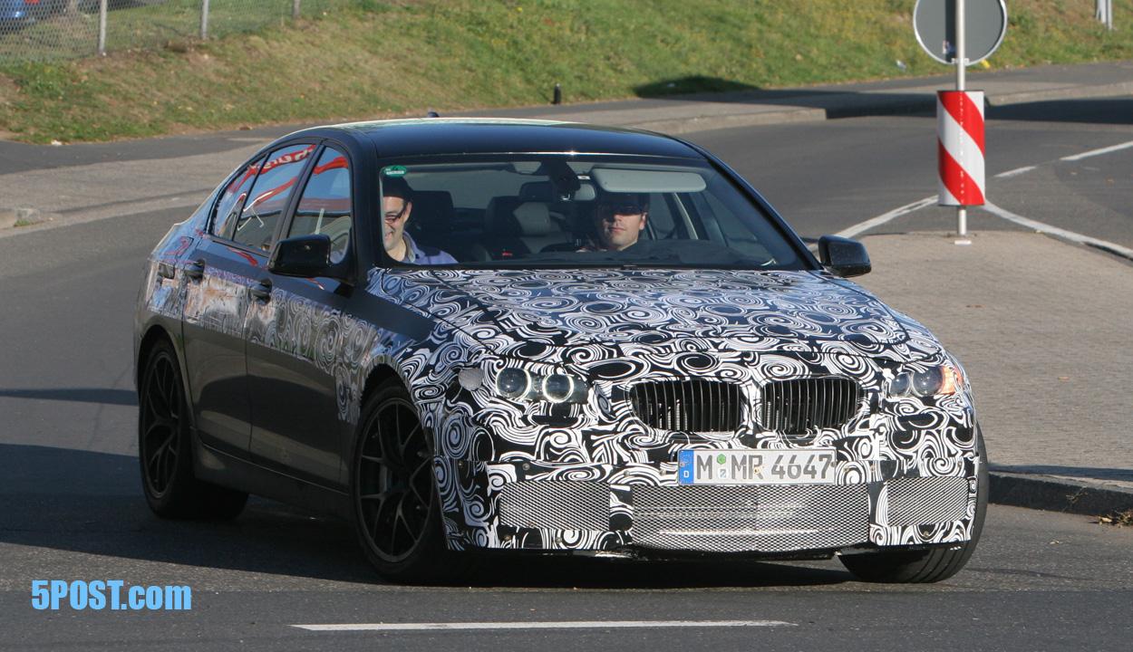 Spy Photos: BMW M5 F10