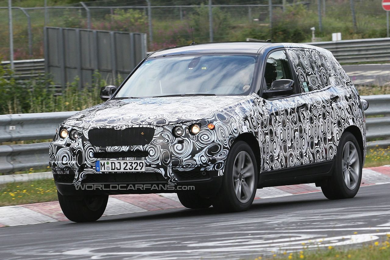 New BMW X3 facelift