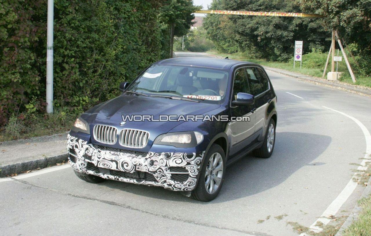 Spy Photos: BMW X5 Facelift