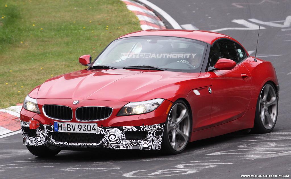 Spy Photos: BMW Z4 with M sport package