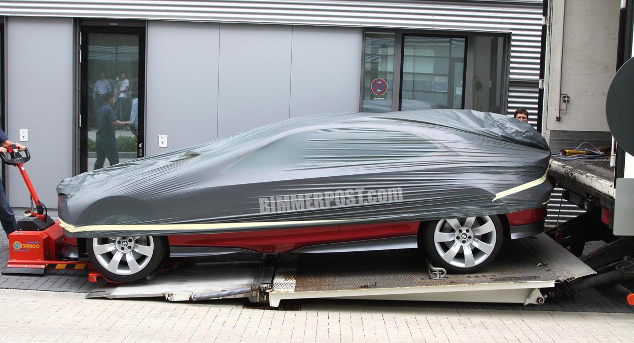 Spy Photos: Mystery BMW Concept