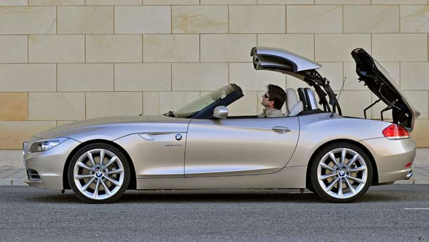 2010 BMW Z4 Convertible about to be launched
