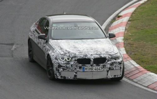 Spy Video: NEW 2011 BMW M5 F10 Nordschleife