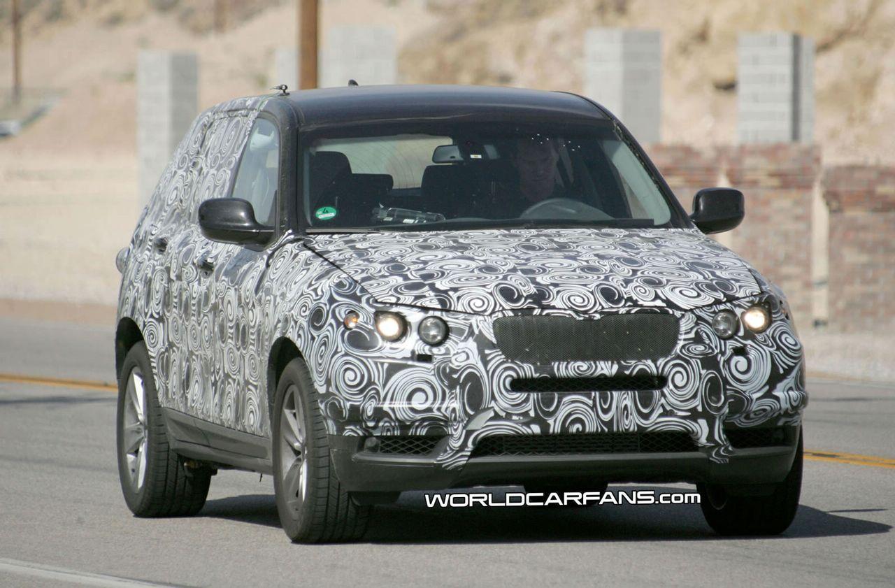 Spy Photos: 2011 BMW X3