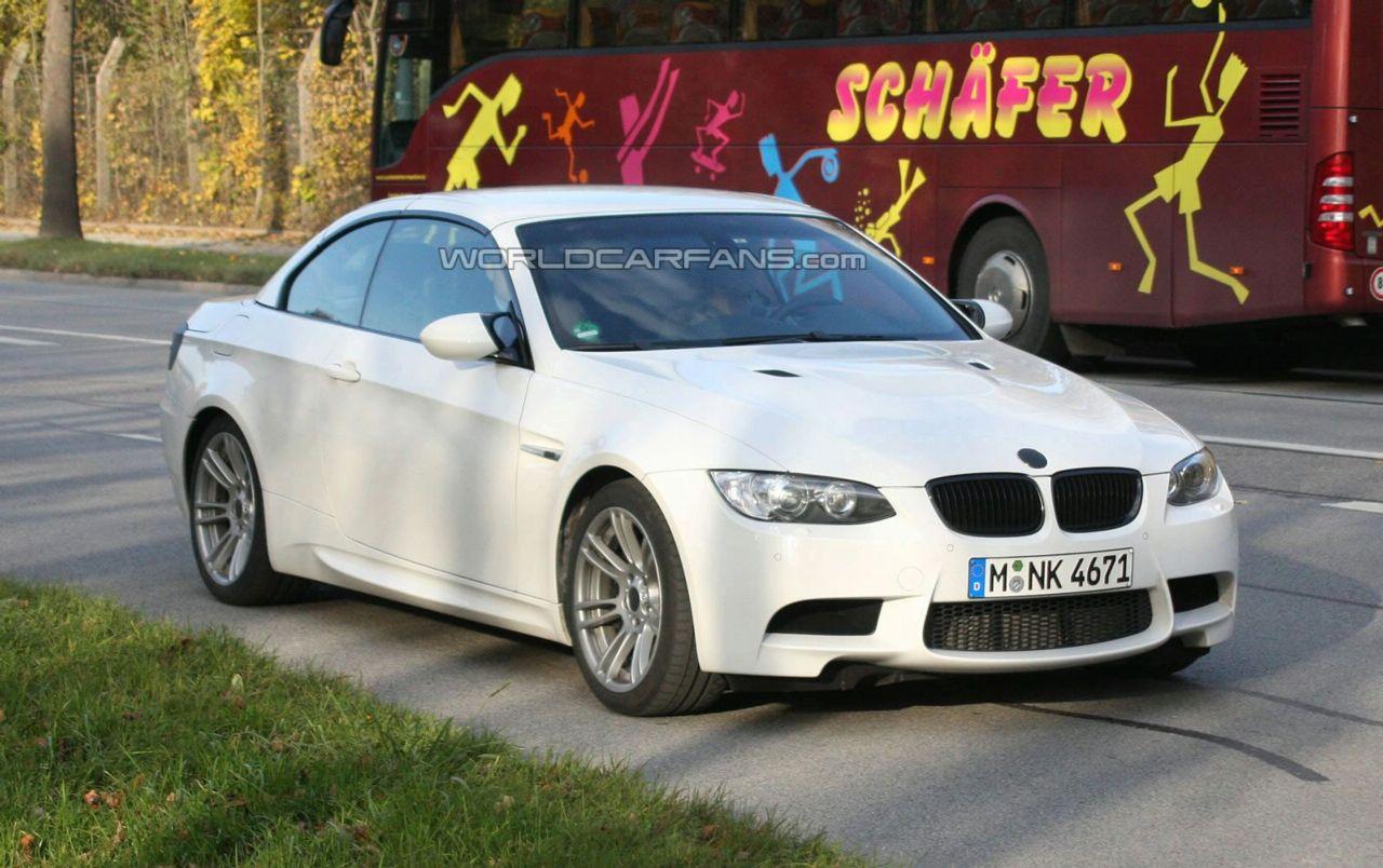Spy Photos: BMW M3 Convertible Facelift