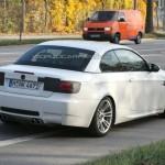 BMW M3 Convertible Facelift