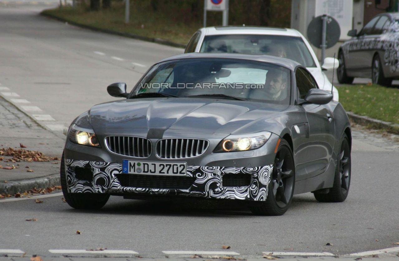 New Spy Photos: 2010 BMW Z4 M Package