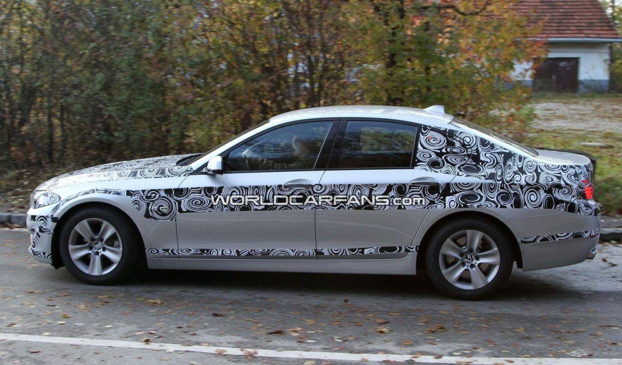 Spy Video: 2011 BMW 5 Series Sedan, Touring & M5