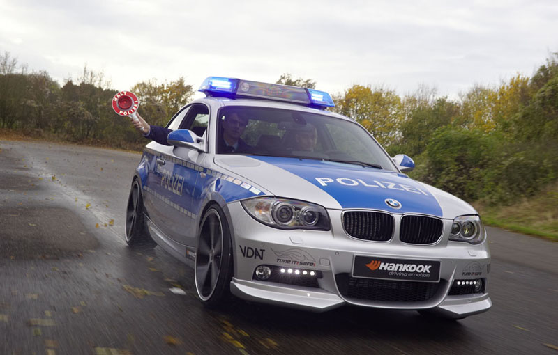 BMW 123d by AC Schnitzer for German Police