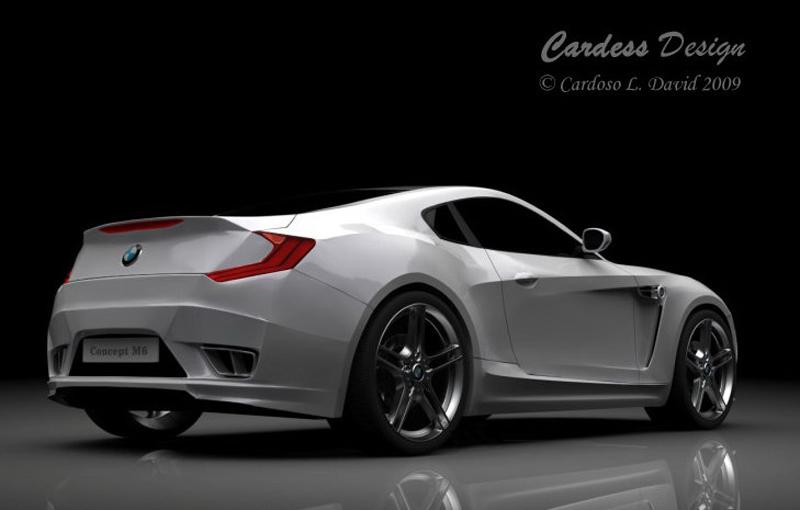 BMW M6 Concept designed by David Cardoso