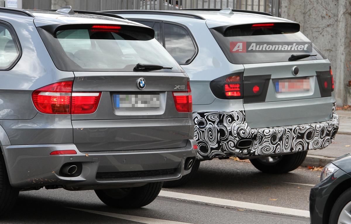 Spy Photos: BMW testing X5 Facelift
