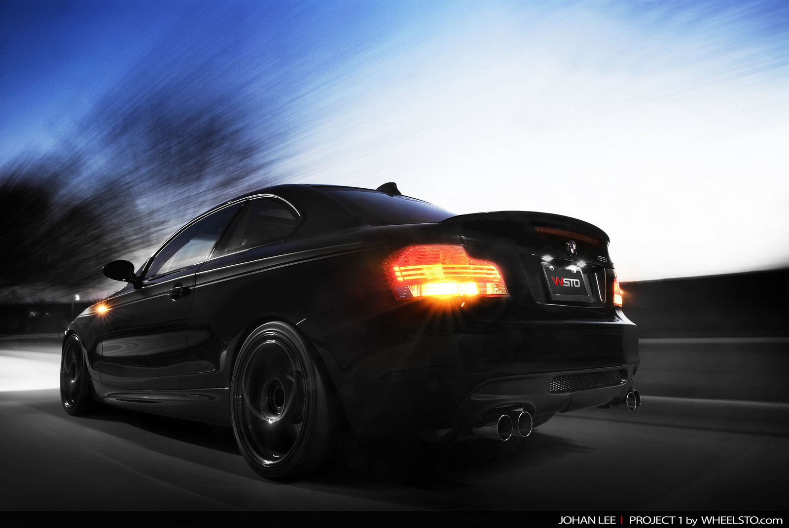 WSTO tuning kit for BMW 135i Coupe