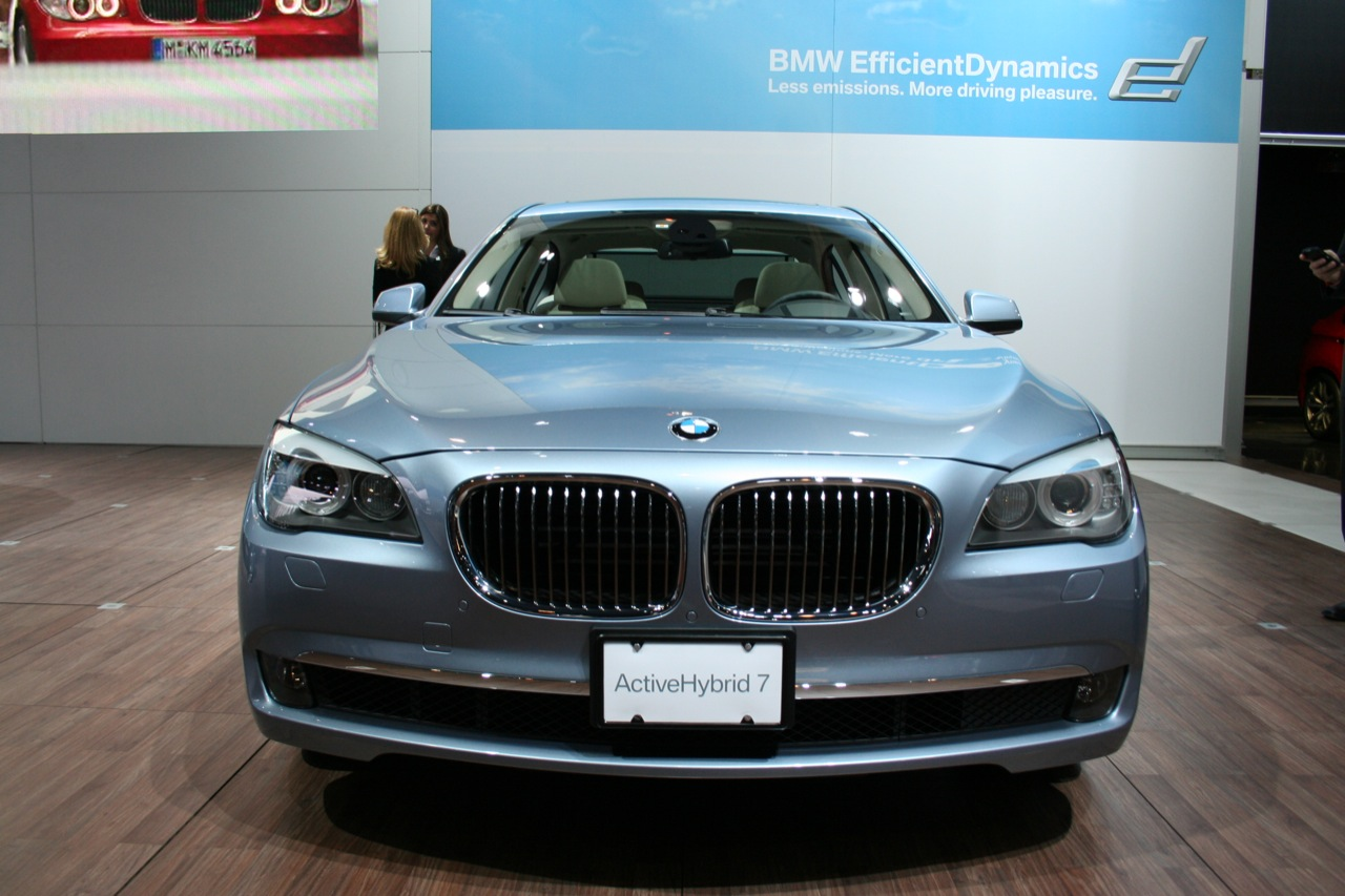 Exterior Design Preview of BMW ActiveHybrid 7