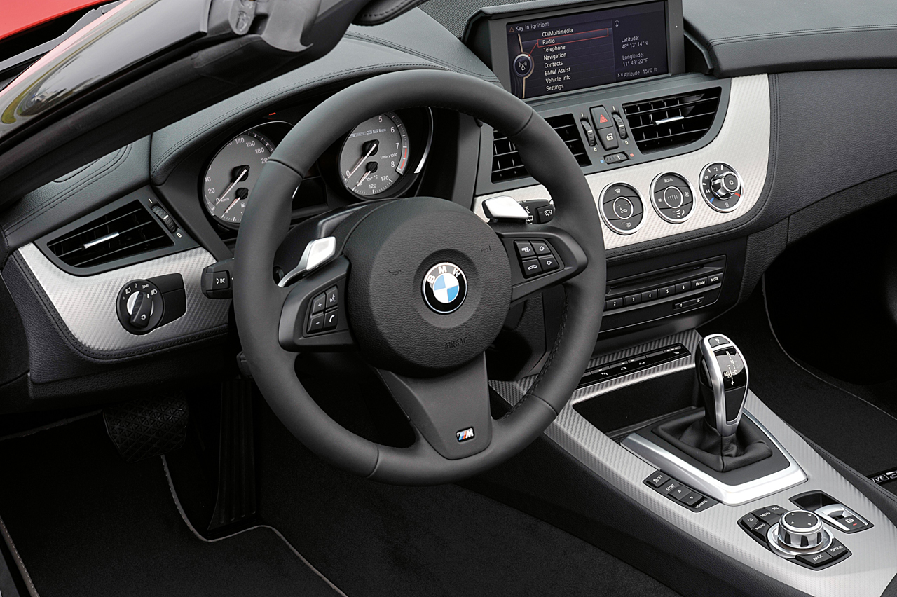 Interior preview of the BMW Z4 GT3