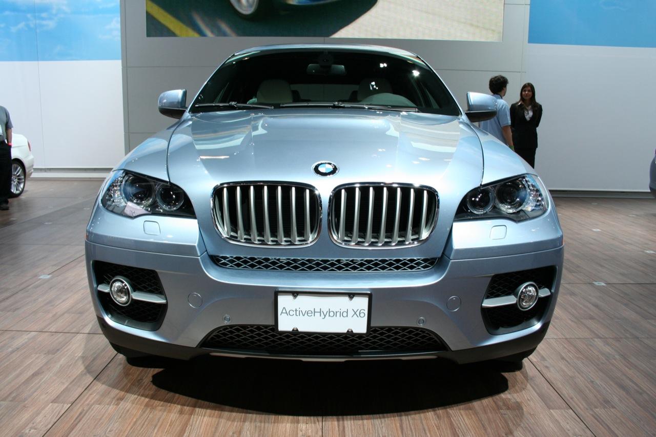 L.A. Auto Show: BMW ActiveHybrid X6