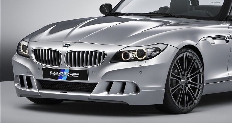 Photos and Details about the custom 2010 BMW Z4 tuned by Hartge