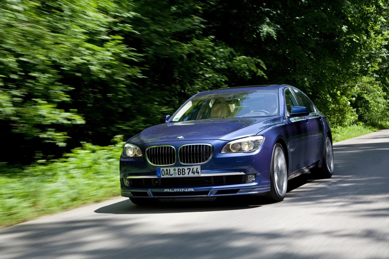 2011 BMW Alpina B7 Sedan is about to come back