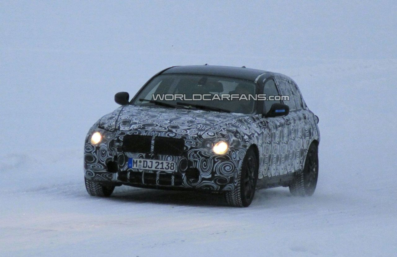 Spy Photos and Details about the 2012 BMW 1 Series Hatchback