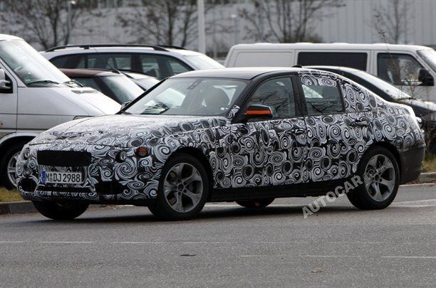 More spy shots with the BMW 3 Series GT