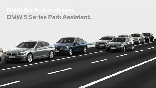 VIDEO: 2011 BMW 5-Series Parking Assistant