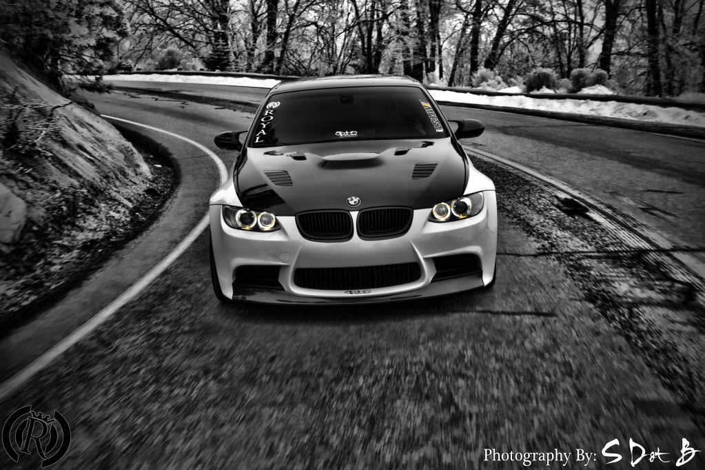 BMW M3 E93 by Royal Muffler with photos and few details