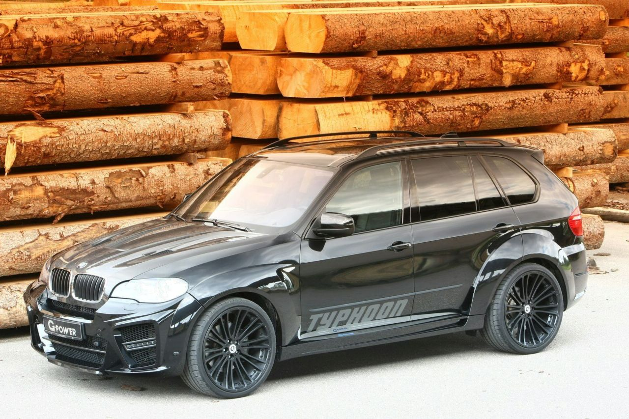 BMW X5 tuned by G-Power named Typhoon Black Pearl
