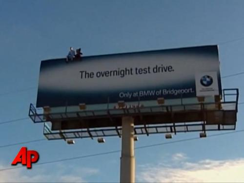 VIDEO: BMW Billboard in Bridgeport