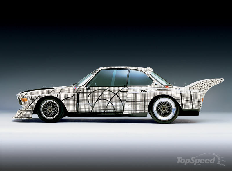 The 17th BMW Art Car to be designed by Jeff Coons