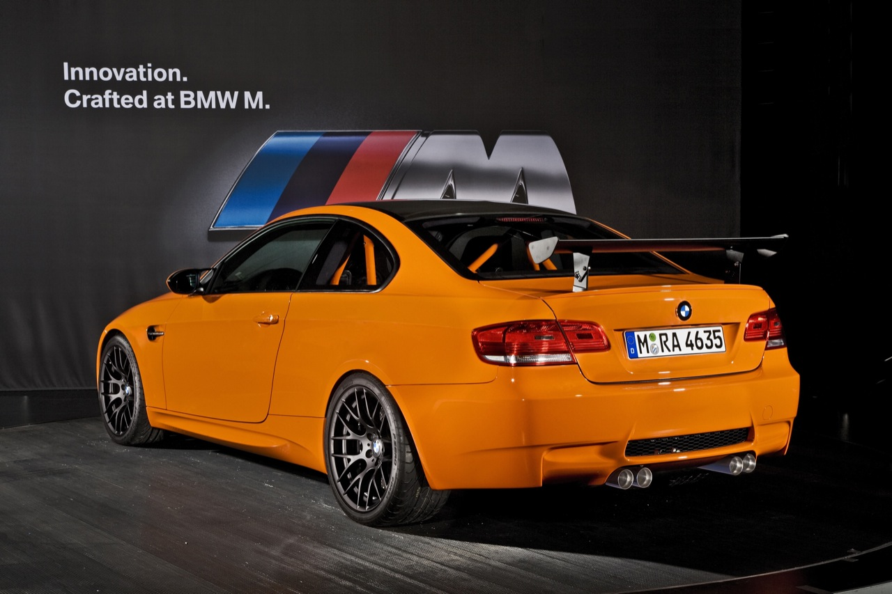 BMW M3 GTS conquers the Nurburgring circuit