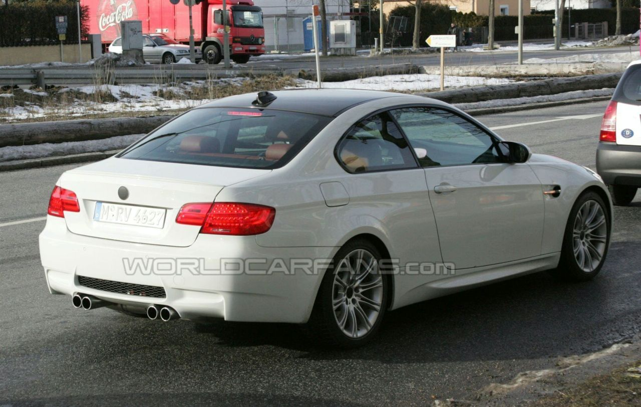 Spy photos with BMW M3 Coupe