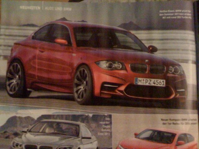 More details about the BMW 1 Series M