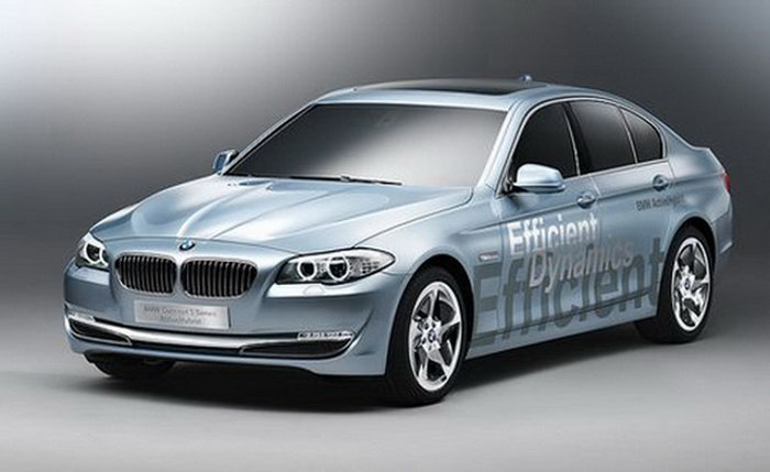 Leaked photos with BMW ActiveHybrid 5