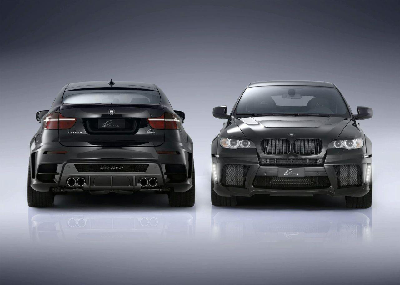 Pre-reveal of BMW CLR X650 M Lumma
