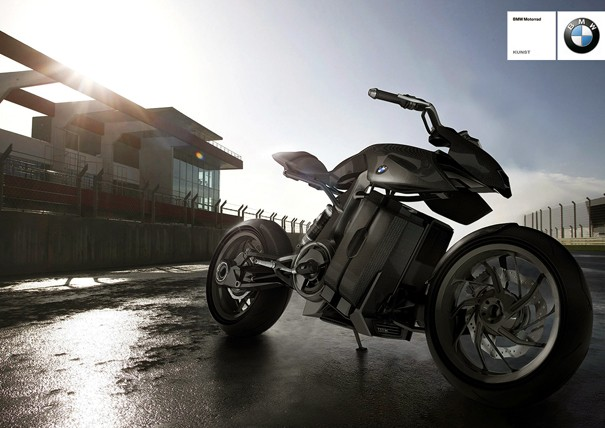 Details and photos about BMW Motorcycle Fuel-Cell Concept