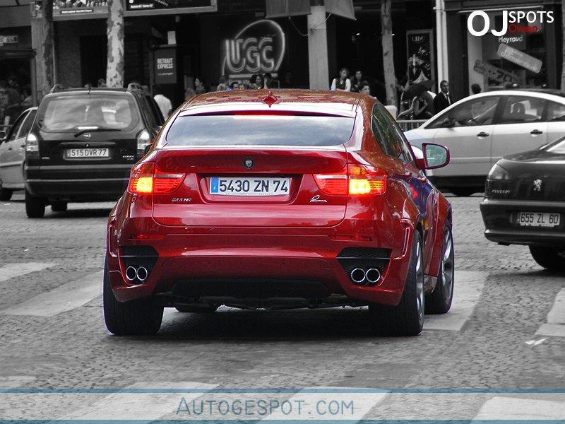 BMW X6 tuned by Lumma – spy photos