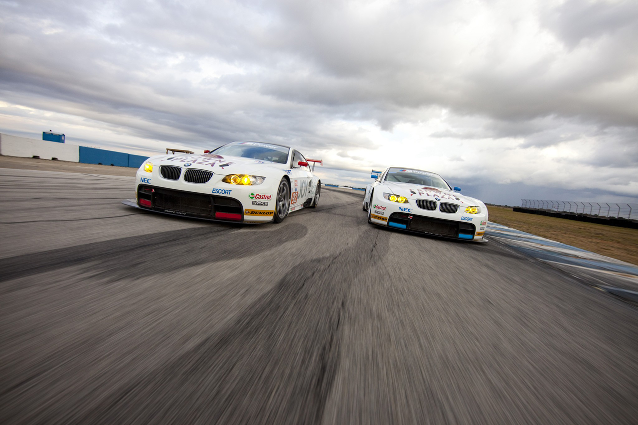 Released photos with BMW M3 for the 2010 ALMS season