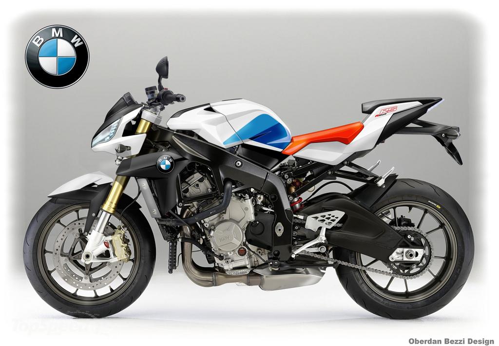 BMW R1000RS rendered by Oberdan Rezzi